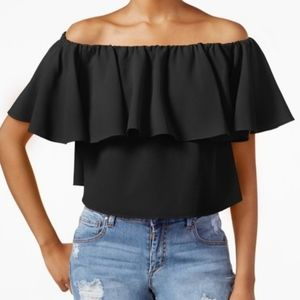 NWOT - RACHEL by Rachel Roy Cropped Strapless Top